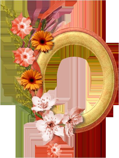 цветочные кластеры вырезы для рамок