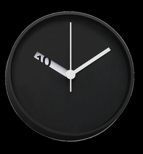 часы черный клипарт