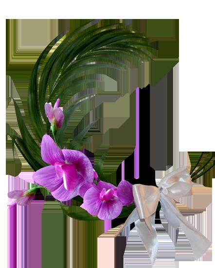 клипарт цветы декор