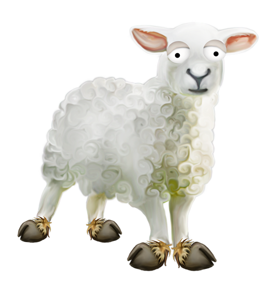 клипарт животные овца