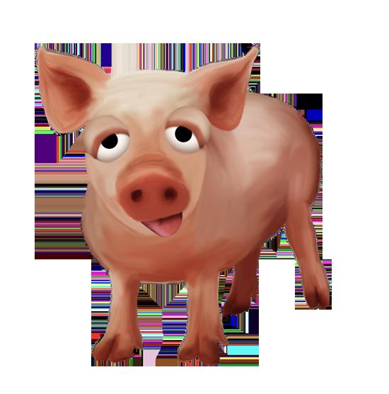 клипарт животные свинья