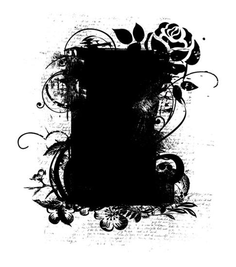 маски для фотошопа розы