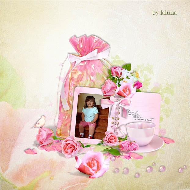 скрап-набор мир роз