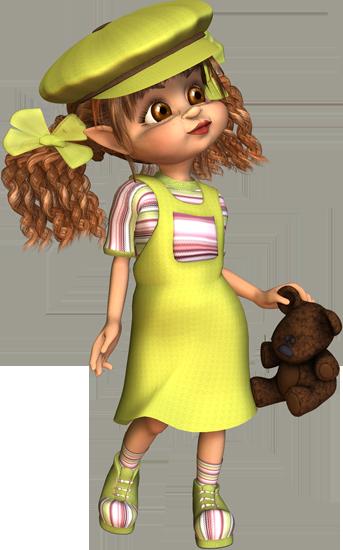 Куклы 3D