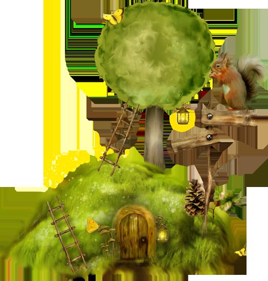 сказочные кластеры в сказочном лесу