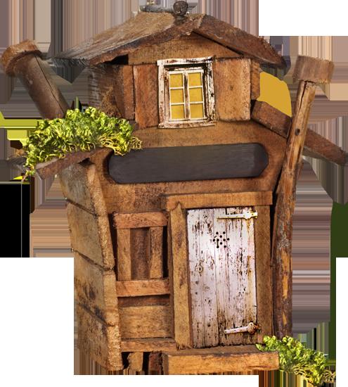 сказочные дома клипарт