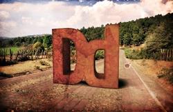буквы из камня