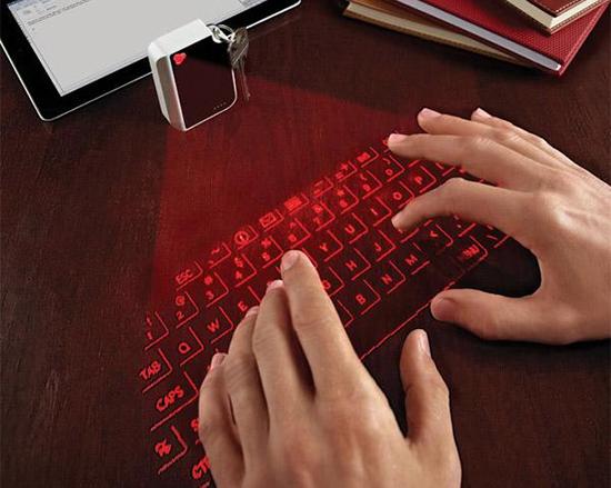 Лазерная проекционная клавиатура
