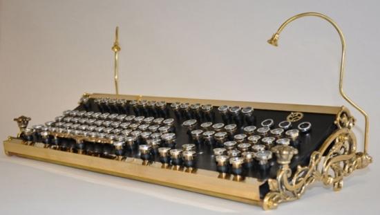 Стимпанк клавиатура