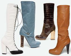 цвета обуви