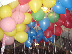 декорации Воздушные шарики