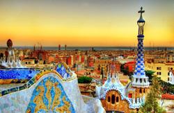 Живописные места Барселоны