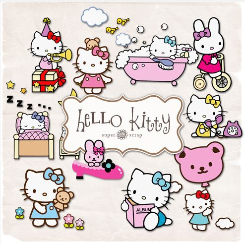 scrap-kit - hello kitty