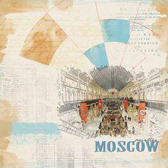 Москва, скрапбукинг