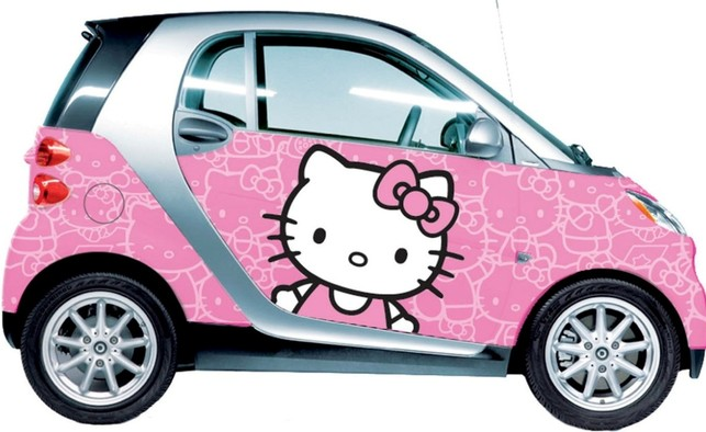 Cars-Smart-Fortwo-Hello-Kitty