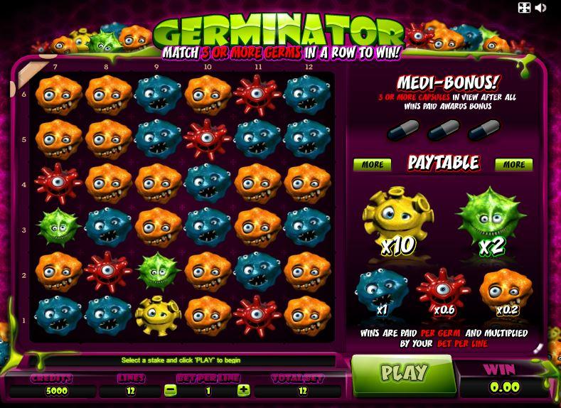 Онлайн слот Germinator