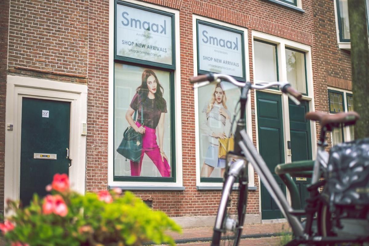 Новинка рекламы — голландский проект на окнах