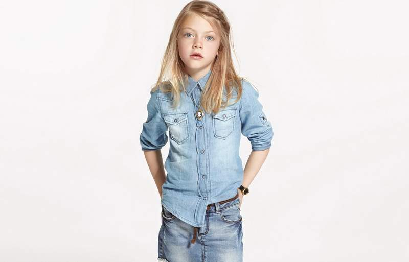 Детская джинсовая одежда