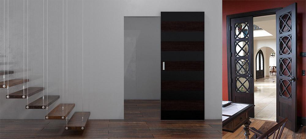 Межкомнатные двери в дизайне квартиры 2020