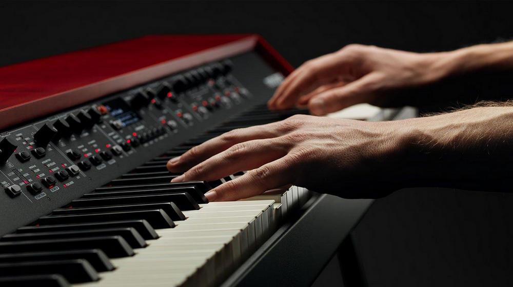 Выбор клавиш цифрового пианино