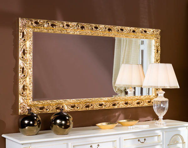 Выбор рамки на зеркало